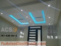 Remodelaciones - Gypsum Board - Facias - TV Units - Paredes Divisorias